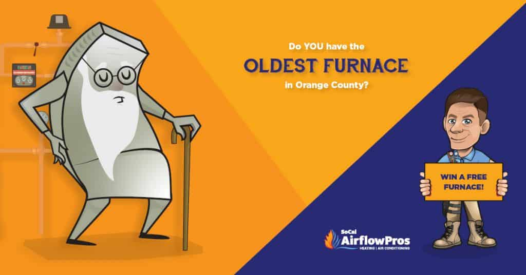 SoCal oldest furnace graphic wide