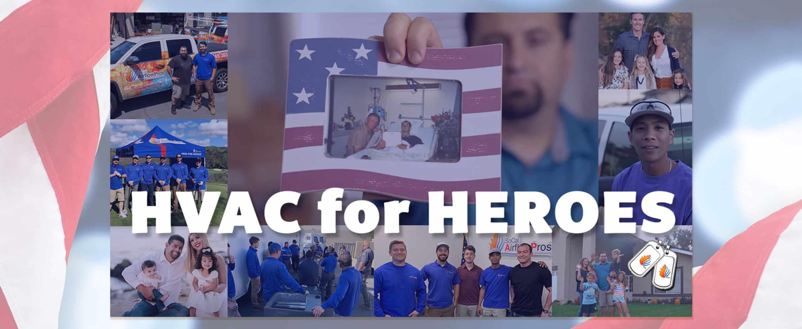HVAC for HEROES banner