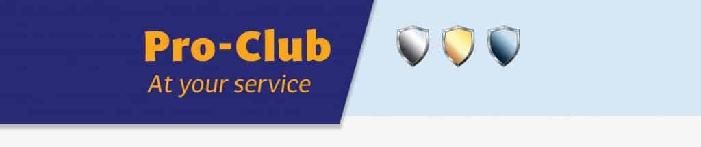 Pro Club Member banner